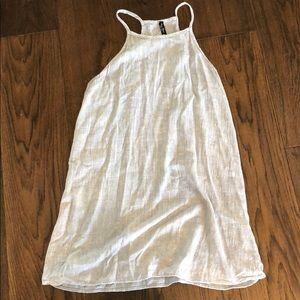 Grey tank top dress